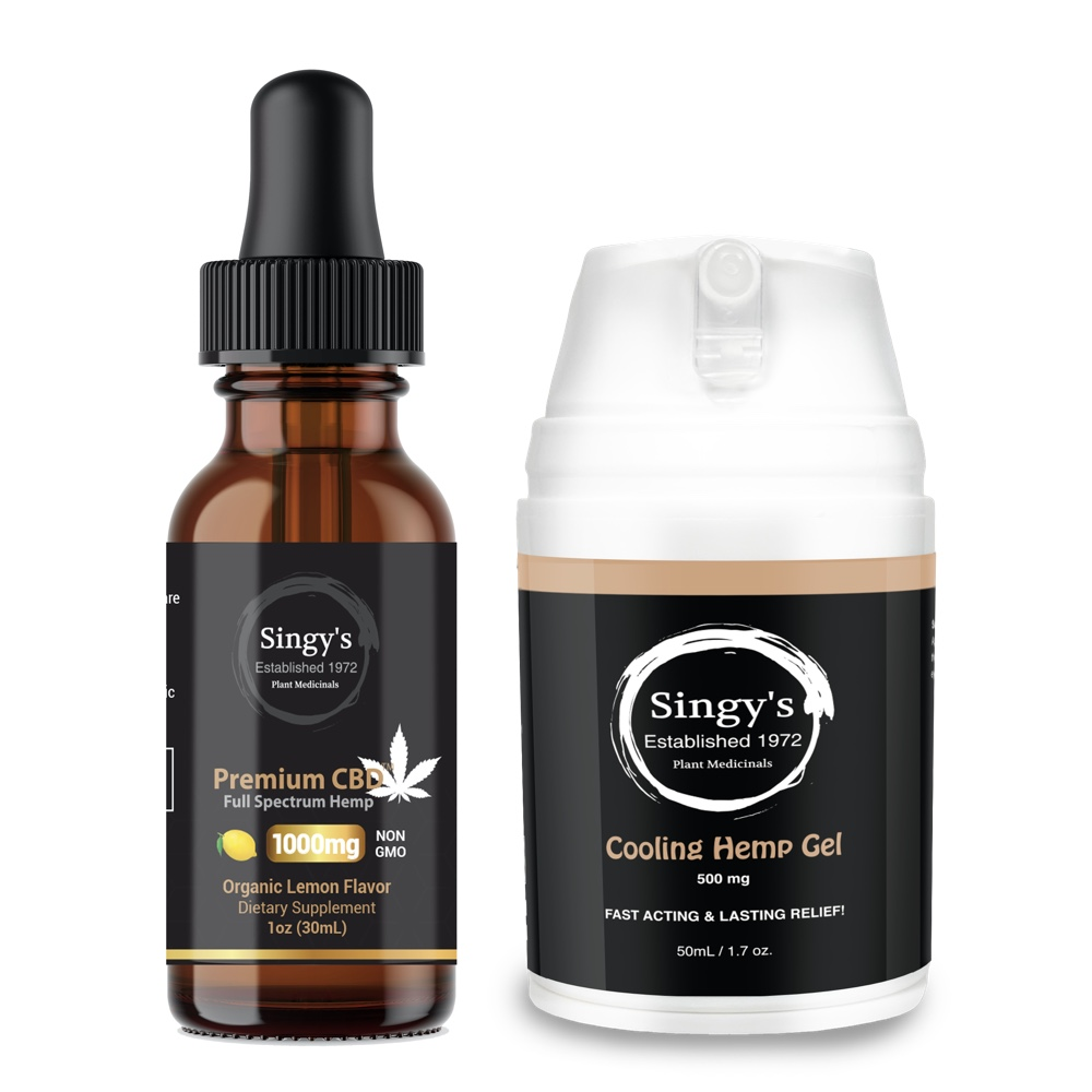 CBD Pain relief bundle - Singy's Premium CBD Oil