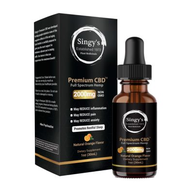 Singy's Premium CBD - The #1 CBD Oil You Can Trust 6