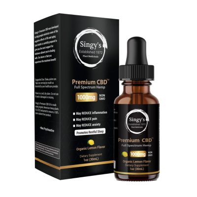 Singy's Premium CBD - The #1 CBD Oil You Can Trust 2
