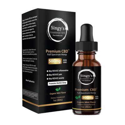 Singy's Premium CBD - The #1 CBD Oil You Can Trust 1